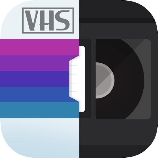 RAD VHS Camcorder アプリ。