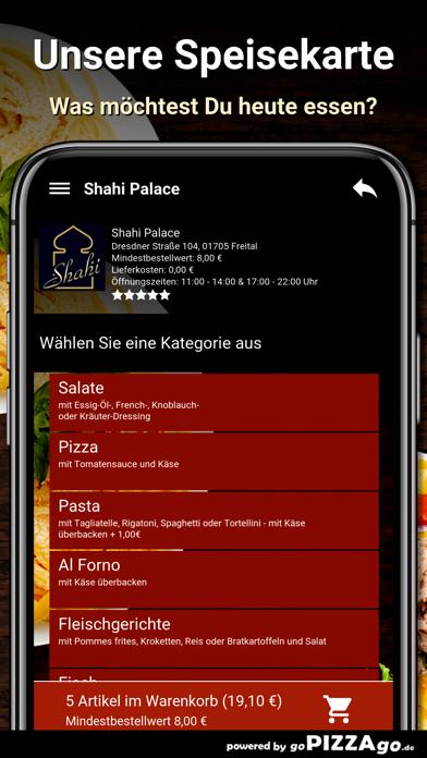 Shahi Palace Freital screenshot 4