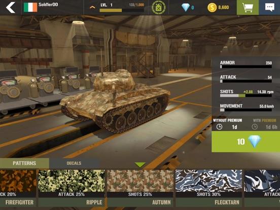 War Machines: Tank Skjutspel iPad app afbeelding 4