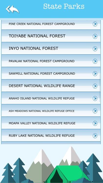 Nevada Camping & State Parks screenshot-3