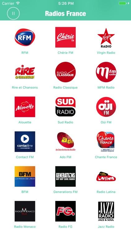 Radios France Radio French FM