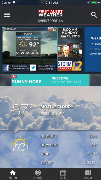KSLA 12 First Alert Weather screenshot-0