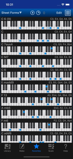 Piano Kit Piano Chords On The App Store
