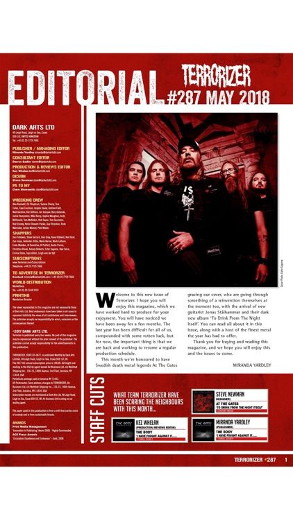 Terrorizer Magazine screenshot-1