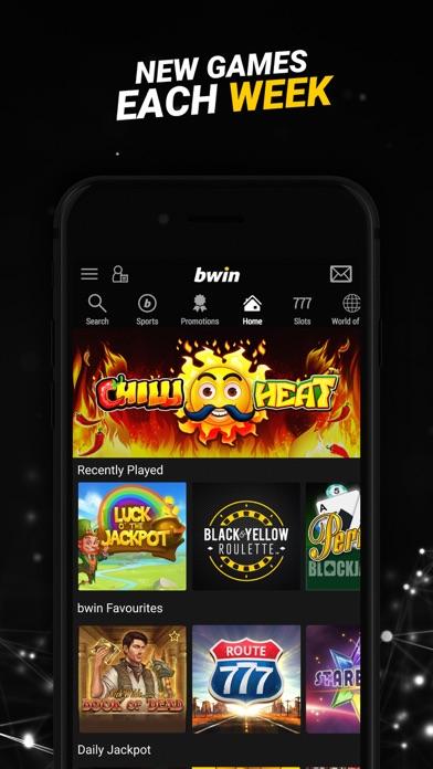 bwin Live Casino Games screenshot four