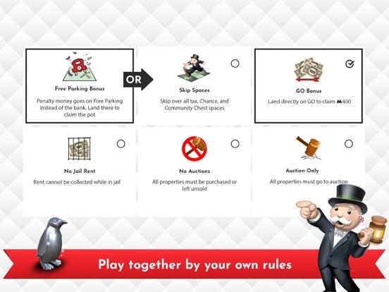 Monopoly iPad app afbeelding 6