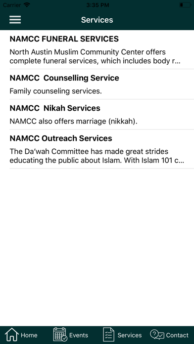 Download NAMCC for Android