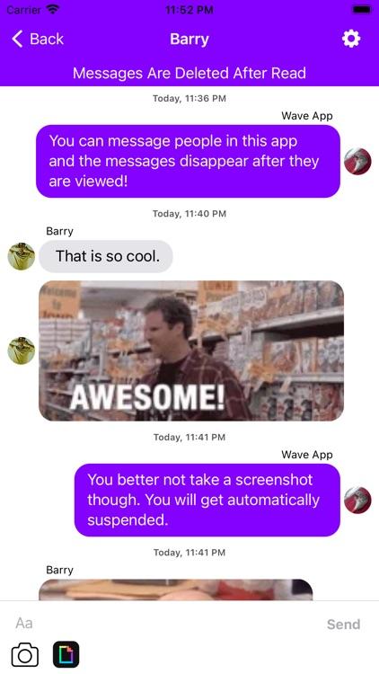 Wave - Make New Friends & Chat screenshot-3