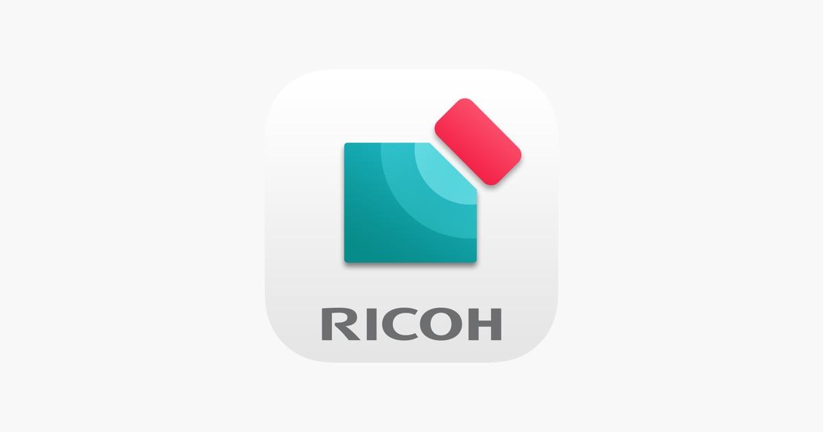 「RICOH カンタン入出力」をApp Storeで