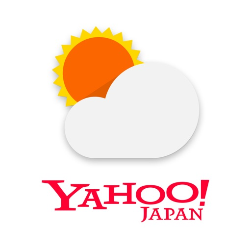yahoo天気アプリ
