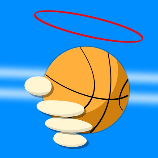 Flick Throw Basketball