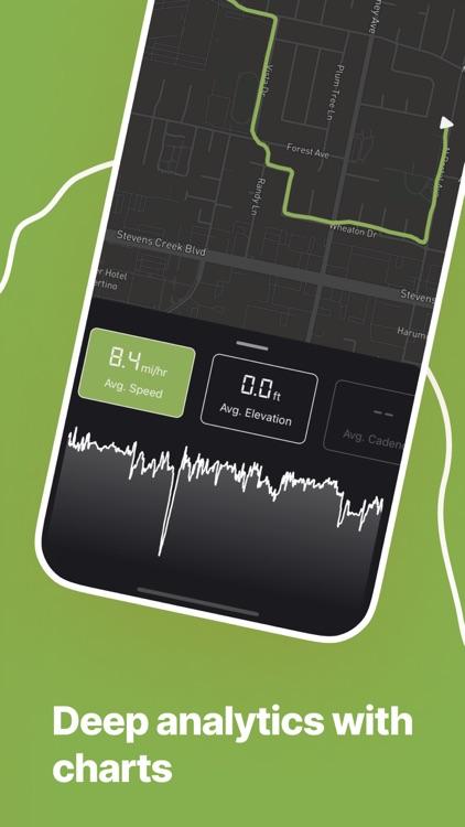 Bike Tracker: Ride Cyclemeter screenshot-3