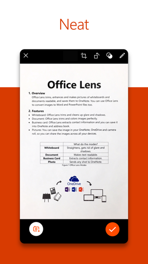 Microsoft Office Lenspdf Scan On The App Store