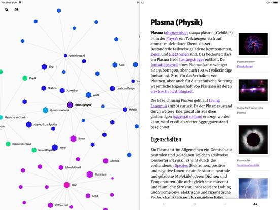 552x414bb Wikiweb iPad-App vereinfacht Wikipedia-Recherche und stellt Suchergebnisse als Netz dar Apple iOS