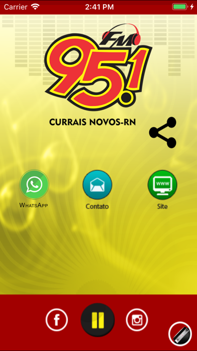 Rádio 95.1 FM screenshot one