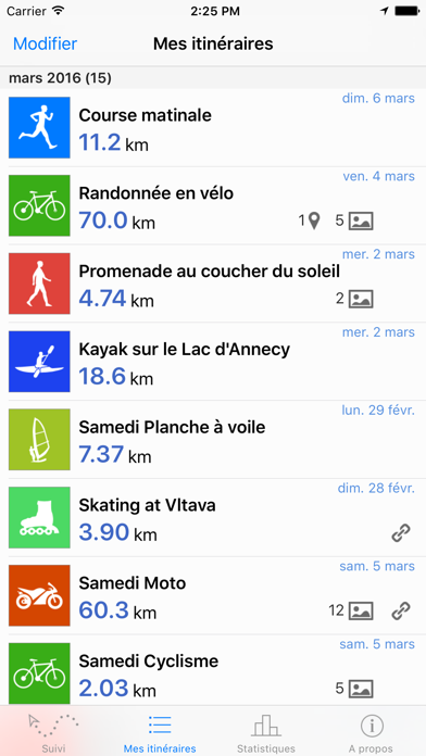 Routie ~ GPS fitness tracker