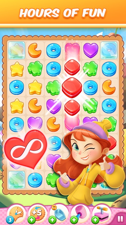 Cookie Crush! Match 3 Game screenshot-0