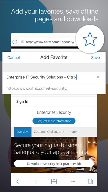 Citrix Secure Web
