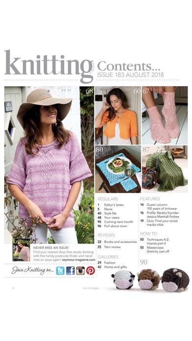Knitting Magazine screenshot1