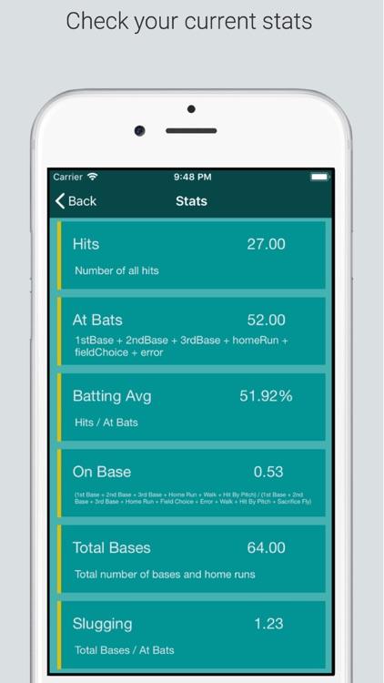 Baseball StatKeeper screenshot-4