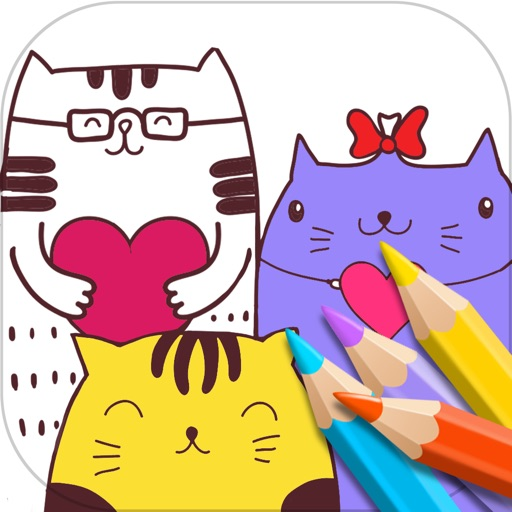 Coloring Book & Pages App iOS App
