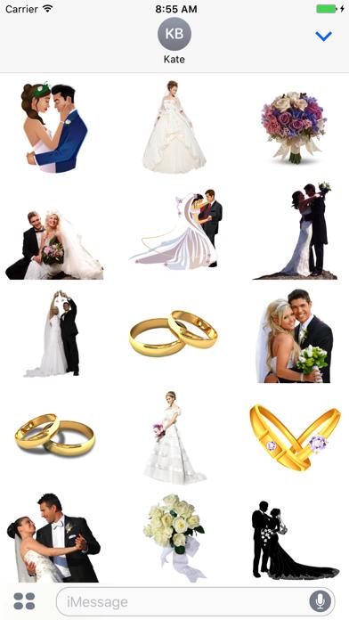 Wedding Stickers + screenshot two
