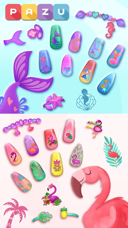 Nail Salon Games for kids screenshot-4