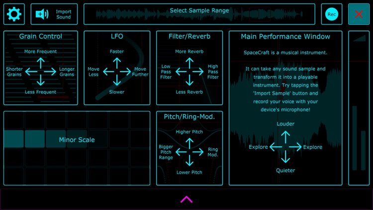 SpaceCraft Granular Synth screenshot-4