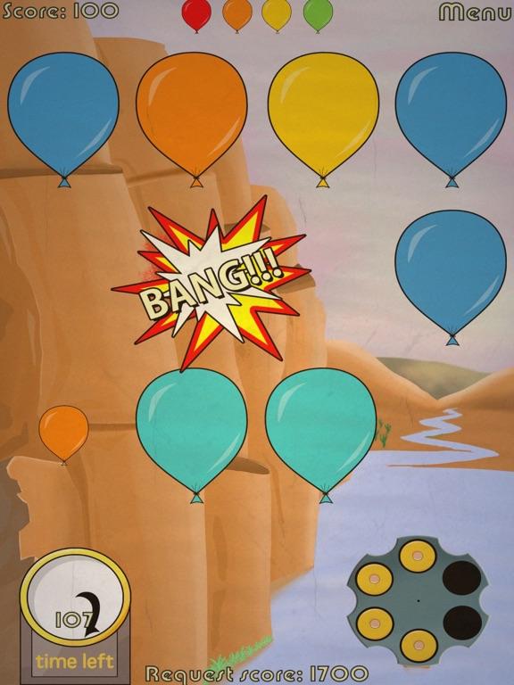 Shooting Balloons Games 2 screenshot 1