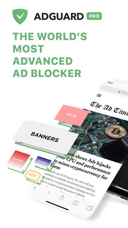 AdGuard Pro — adblock
