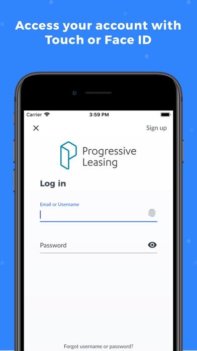 Screenshot for Progressive Leasing Mobile in United States App Store