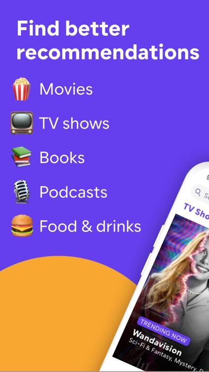 Friendspire: Movies, TV, Books screenshot-0