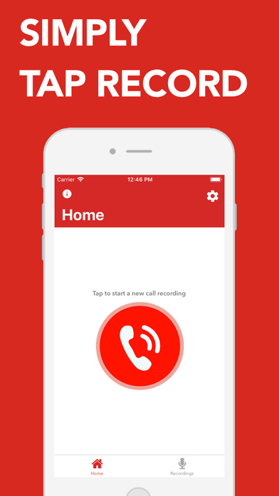 Call Recorder for iPhone - Rec Screenshot
