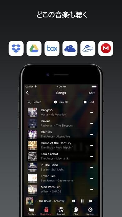 Evermusic Pro - オフライン音楽 screenshot1