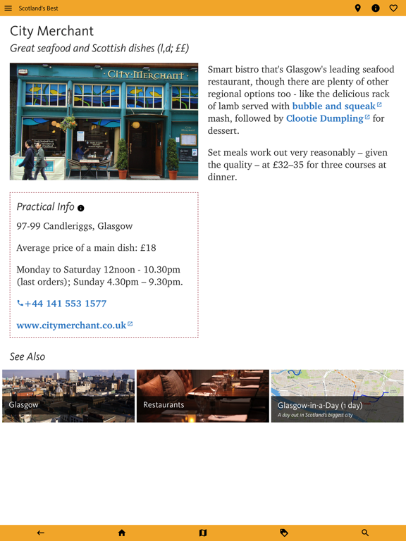 Scotland's Best: Travel Guide screenshot 15