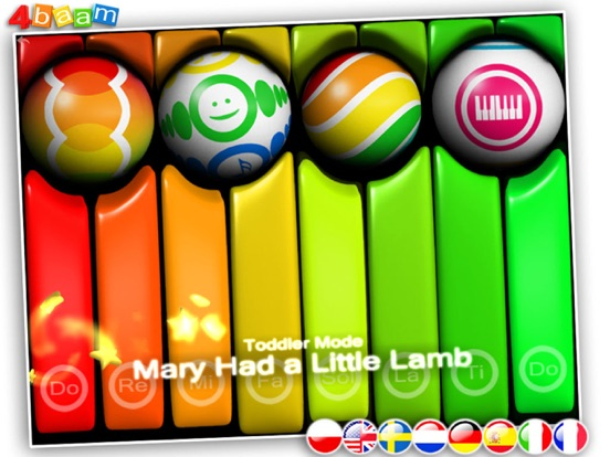 PianoBall - Fun With Learning - magic instrument for kids screenshot