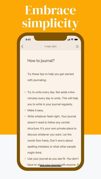 Diarly: Diary, Journal & Notes screenshot-4