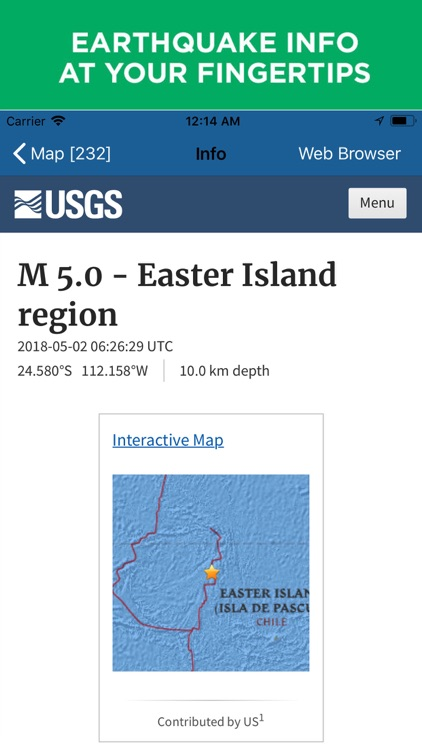 Earthquake+ | Alert,Map & Info screenshot-3