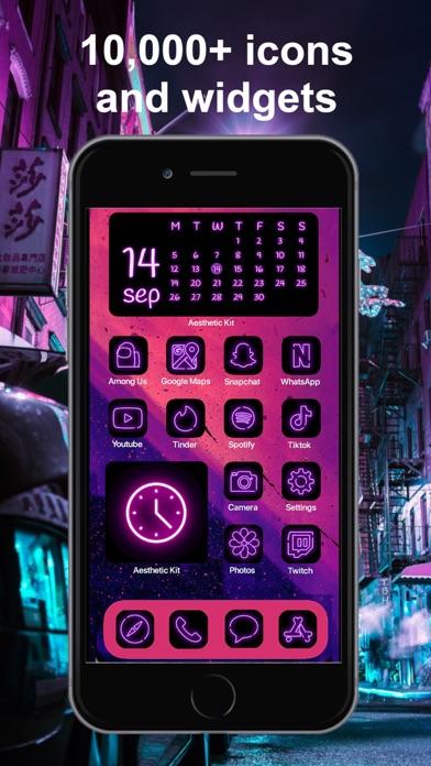 Aesthetic Kit – Icono y temasCaptura de pantalla de8