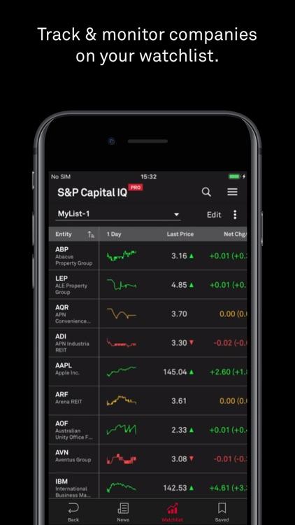 S&P Capital IQ Pro