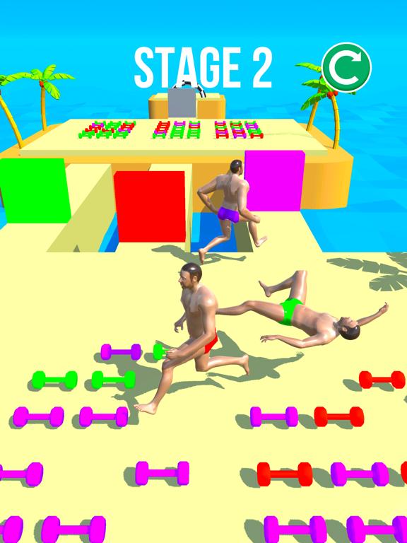 Muscle Race 3D screenshot 5