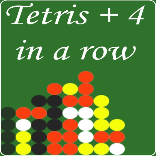 Tetris 4 in a Row Game