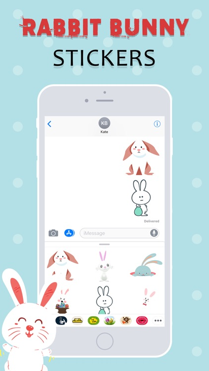 Rabbit Stickers Emojis screenshot-3