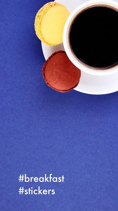 Breakfast Stickers Pro screenshot one