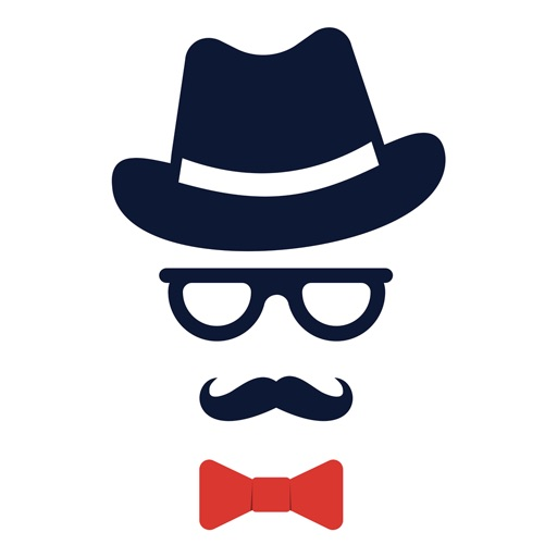 Hipster Happy Father's Day icon