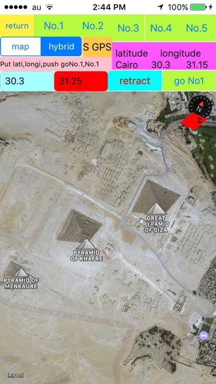 magnet and 6 GPS maps latitude screenshot-3