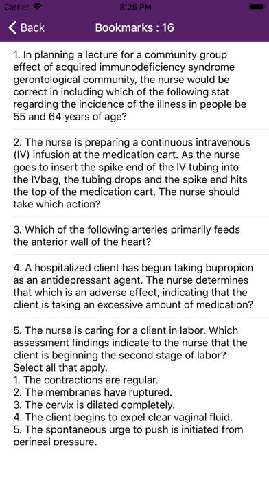 Nursing Quiz 10000+ QuestionsScreenshot of 7