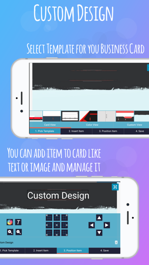Ibusiness card maker on the app store ibusiness card maker on the app store reheart Images