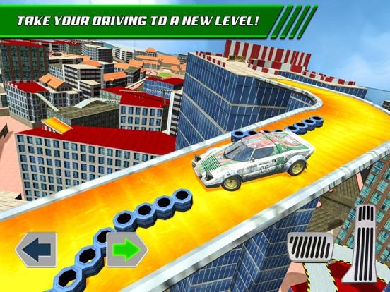 Скачать игру Roof Jumping: Stunt Driver Sim