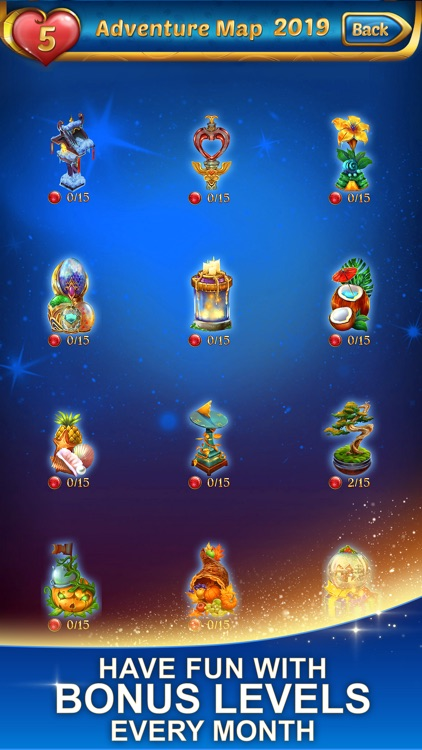 Lost Jewels - Match 3 Puzzle screenshot-3